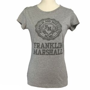 NWT Franklin and Marshall College Crew Neck Tee M